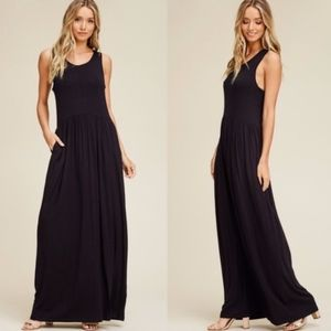 Dresses & Skirts - Tank Maxi Dress with Pockets